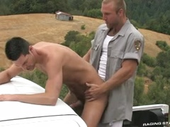The Woods: Part 1 - Tom Wolfe,Cal Skye, Added: 2013-03-23 by Raging Stallion